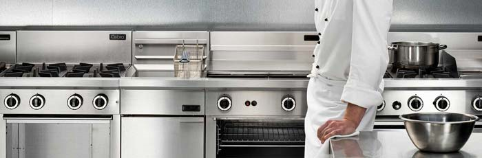 Commercial kitchen appliance repair and maintenance
